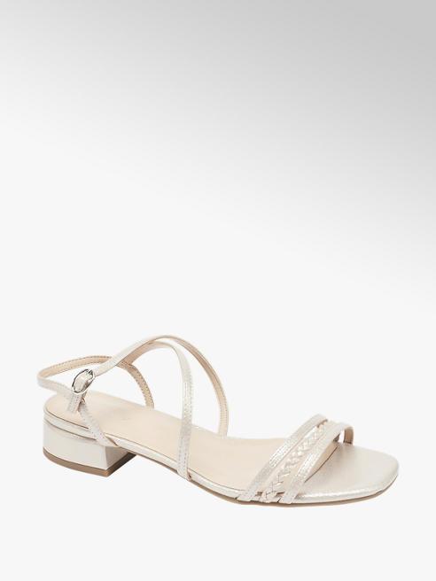 Graceland Béžovorůžové sandály Graceland