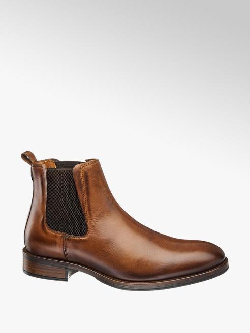 Am Shoe Bőr bokacsizma