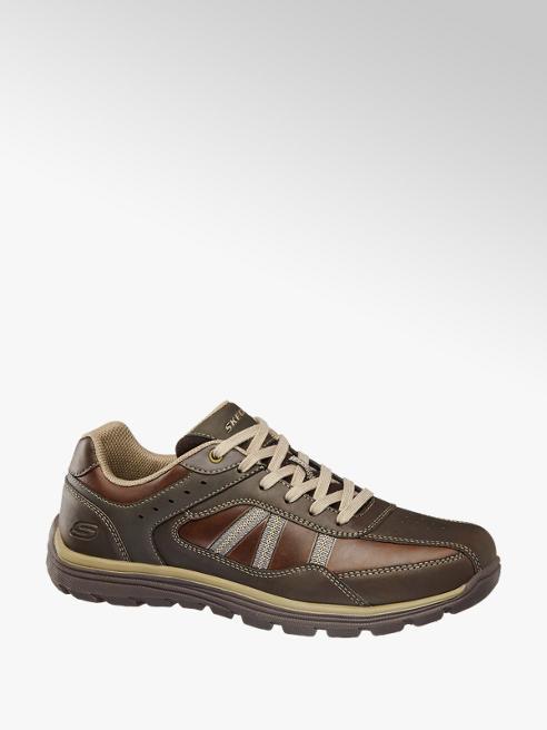 Skechers Bruine sneaker memory foam