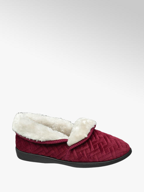 Casa mia Ladies Quilted Full Slippers