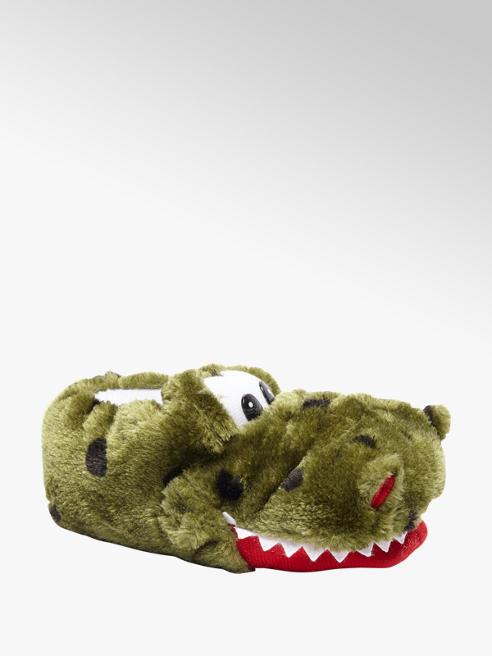 Casa mia Groene krokodil pantoffel