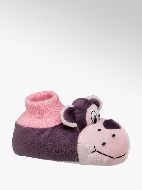 Casa mia Roze aap pantoffel