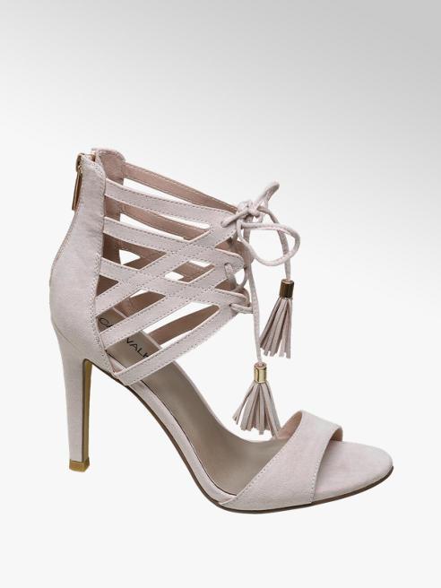 Catwalk Bağcıklı Topuklu Ayakkabı