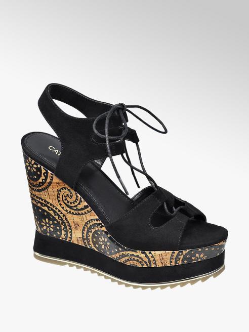Catwalk Dolgu Topuk Sandalet