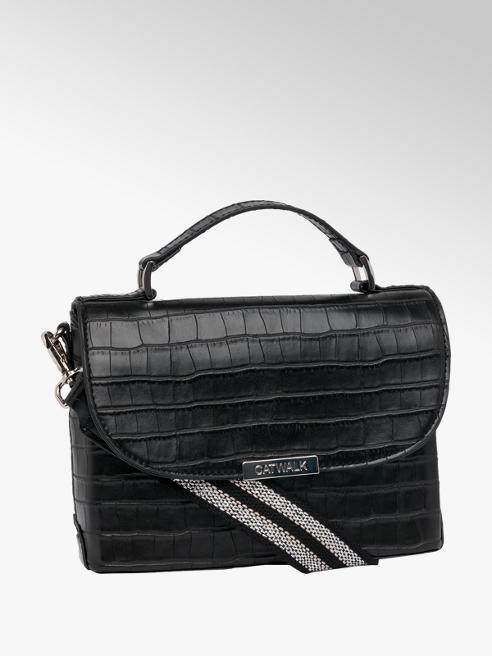 Catwalk Croc Cross Body Bag