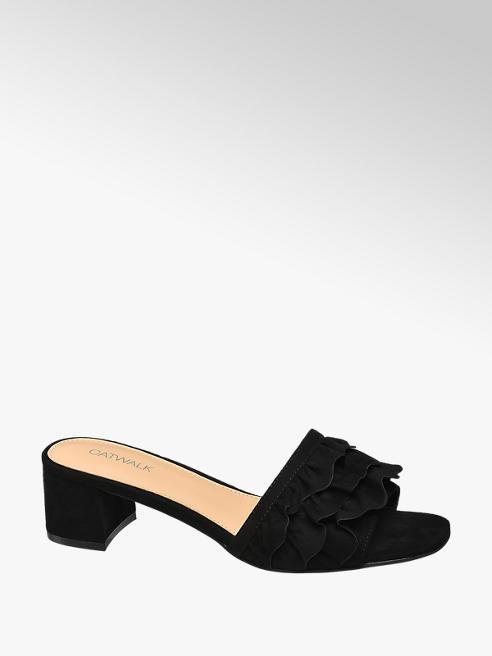 Catwalk Ruffle Sandal