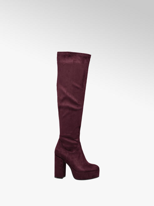 Catwalk Chunky Knee High Boot