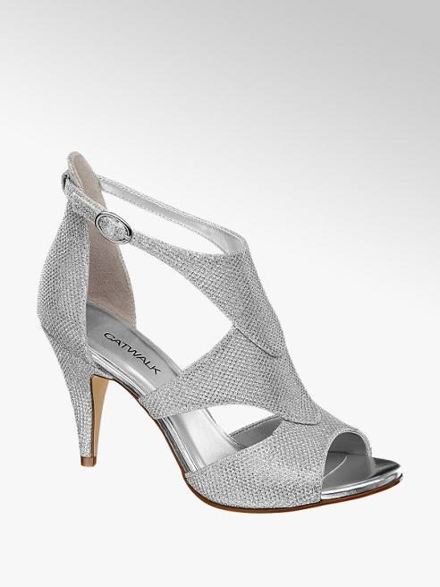 Catwalk Sandaletten in Silber