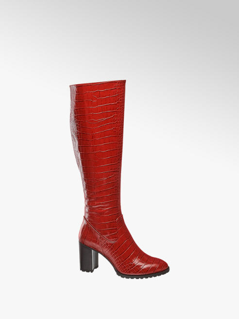 Catwalk Stiefel in Rot