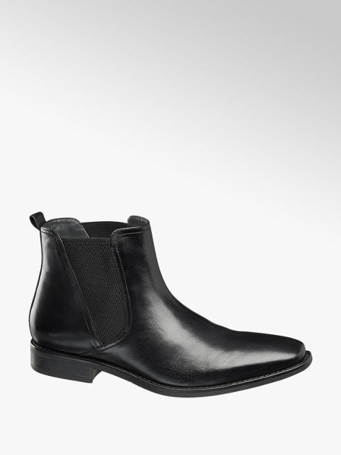 AM SHOE Chelsea Boots Läder