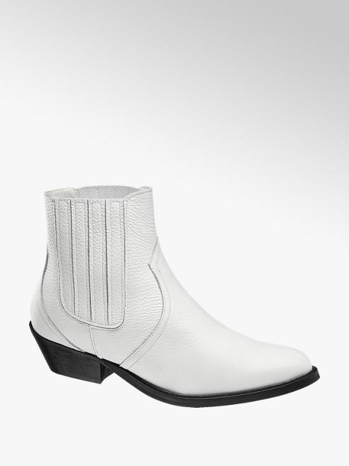 Catwalk Chelsea boot bianca con suola nera