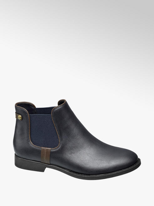 Graceland Chelsea boot blu scura