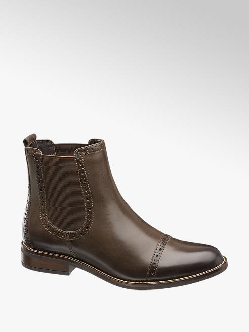 5th Avenue Chelsea boot marrone