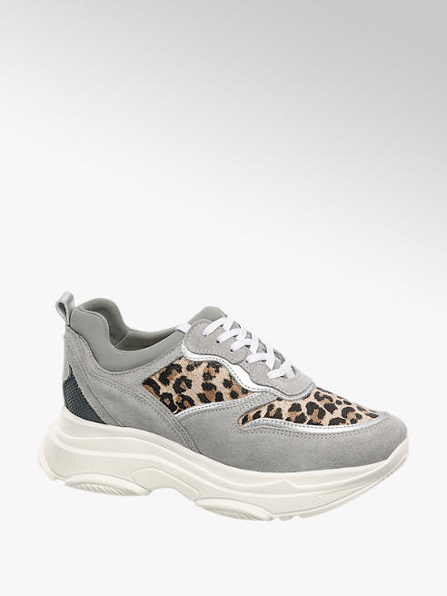 Catwalk Chunky Sneaker con dettaglio animalier