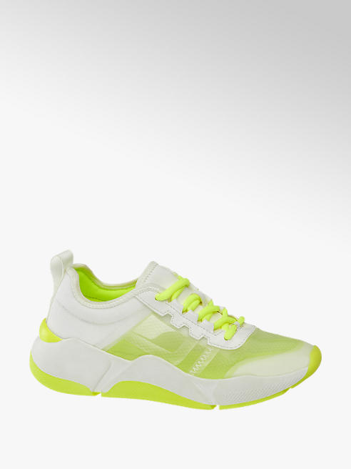 Claudia Ghizzani Sneaker in Neongelb