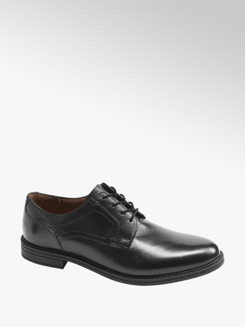 Claudio Conti Leder Business Schuhe in Schwarz