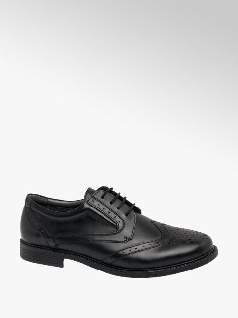 Claudio Conti Mens Black Formal Lace-up Shoes
