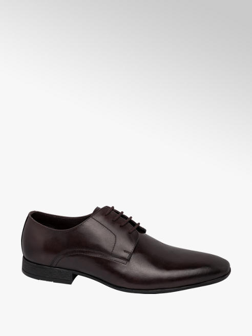 Claudio Conti Mens Claudio Conti Brown Formal Lace-up Shoes