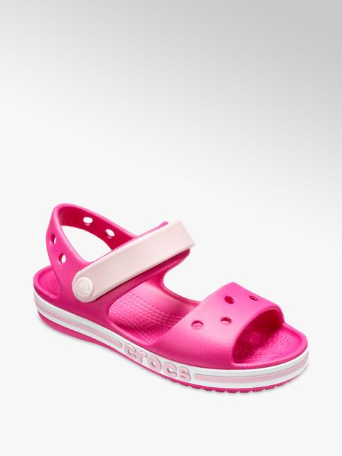 74fba7ea8 Crocs Junior Girls Pink Sandals