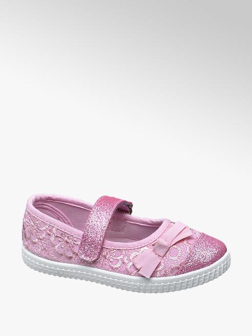 Cupcake Couture Ballerinas in Pink mit Glitzer-Details