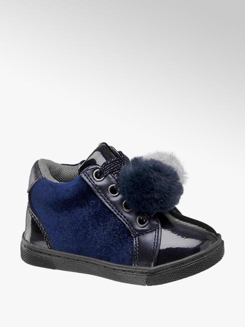 Cupcake Couture Blauw schoentje vetersluiting