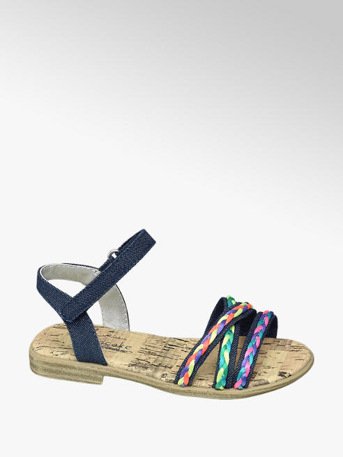 Cupcake Couture Blauwe sandaal sierbandjes