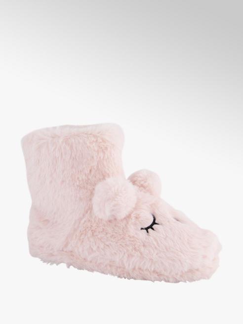 Cupcake Couture Gefütterte Motiv Hausschuhe in Rosa