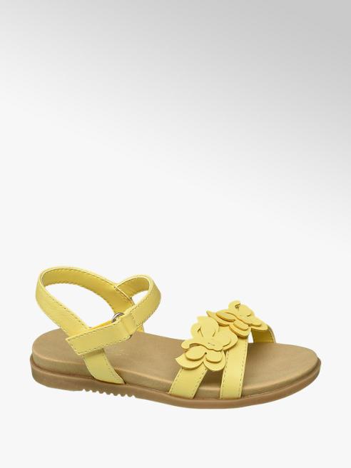 Cupcake Couture Gele sandaal vlinders