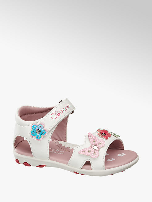 Cupcake Couture Toddler Girl Butterfly & Flower Sandals