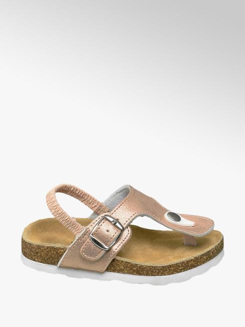 Cupcake Couture Gouden sandaal leren voetbed