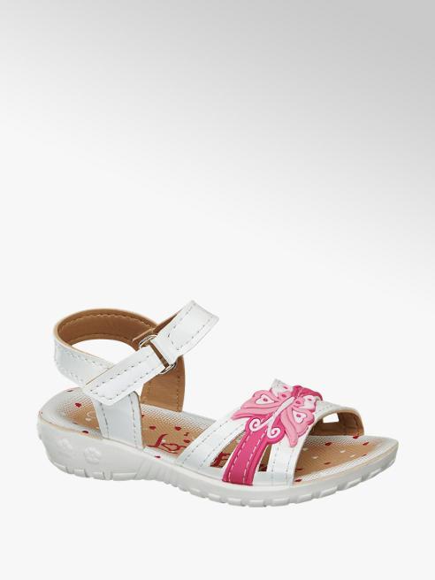 Cupcake Couture Beyaz Sandalet