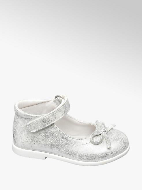 Cupcake Couture Lauflernschuhe in Silber