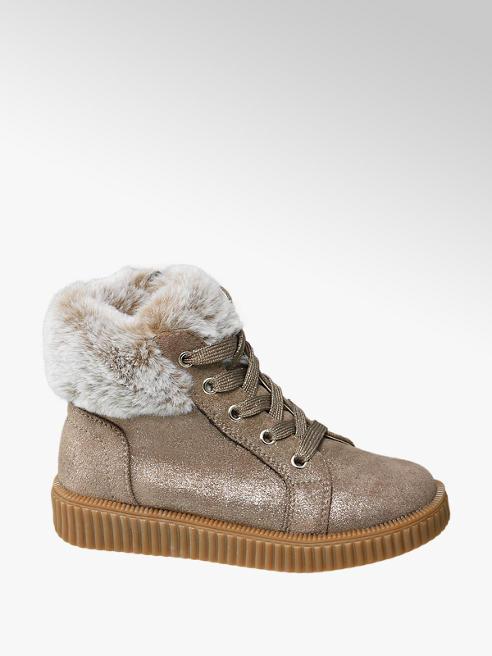 Cupcake Couture Lichtbruine sneakers glitter