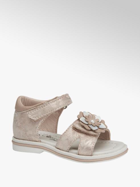 Cupcake Couture Lichtroze sandaal klittenbandsluiting