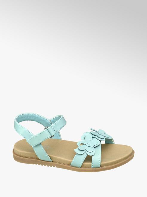 Cupcake Couture Mintkleurige sandaal vlinders