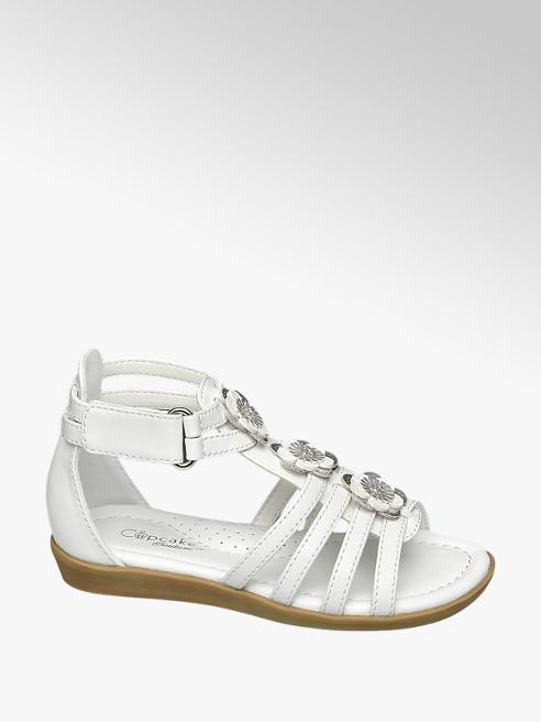 Cupcake Couture Riemchen Sandalen in Weiß