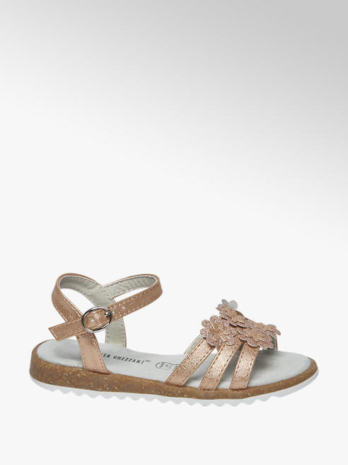 Cupcake Couture Rosè gouden sandaal leren voetbed