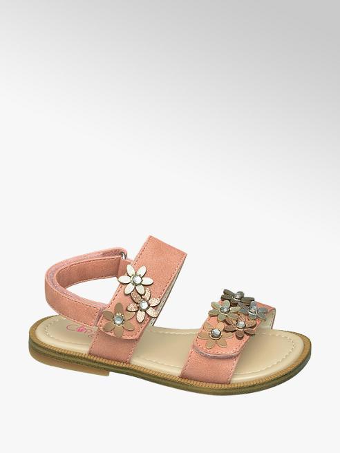 Cupcake Couture Roze sandaal bloemetjes