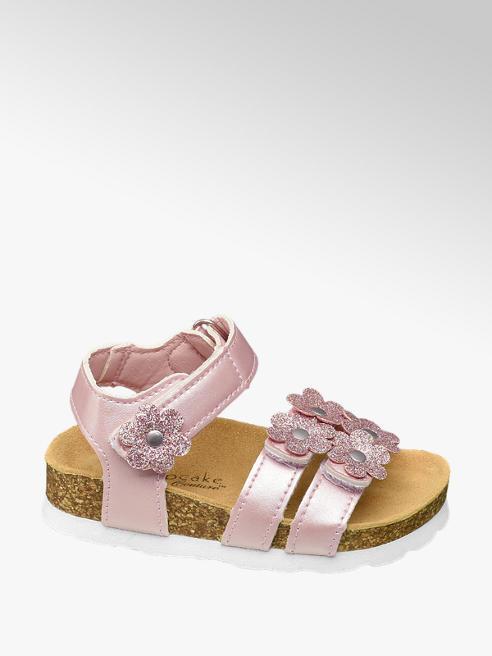 Cupcake Couture Roze sandaal klittenbandsluiting