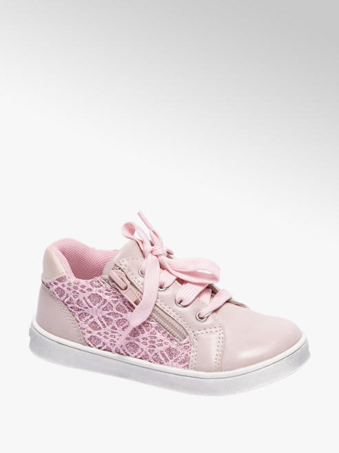 Cupcake Couture Roze sneaker glitters