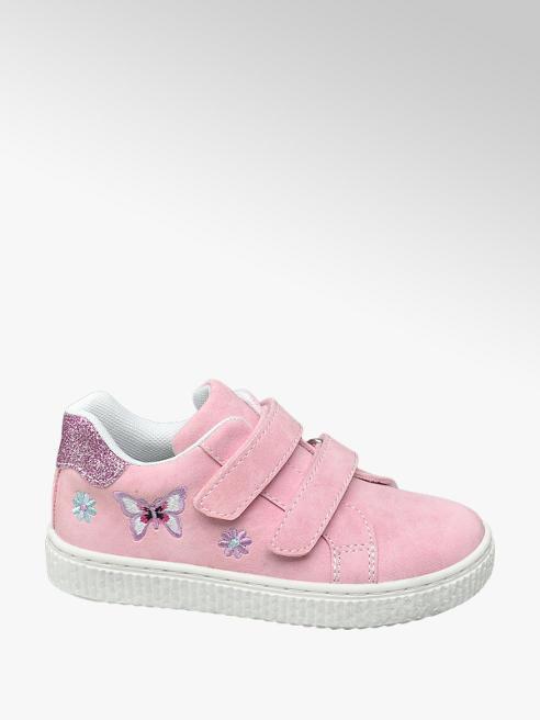 Cupcake Couture Roze sneaker klittenbandsluiting
