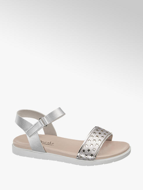 Cupcake Couture Sandalen in Silber