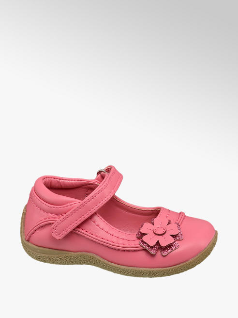 Cupcake Couture Toddler Girl Flower Detail Bar Shoes