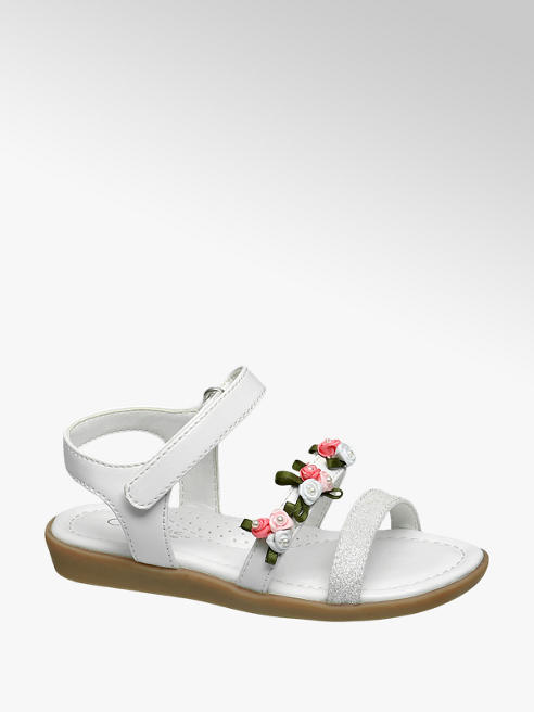 Cupcake Couture Toddler Girl Flower Detail Sandals