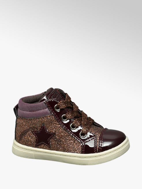 Cupcake Couture Toddler Girl Glitter Hi-Tops