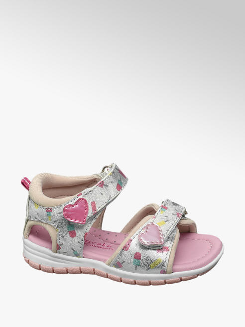 Cupcake Couture Toddler Girl Ice-Lolly Print Sandals