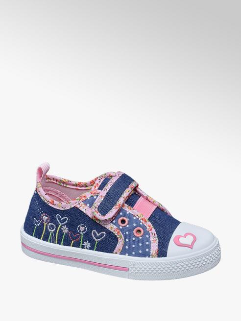 Cupcake Couture Toddler Girl Single Strap Denim Canvas