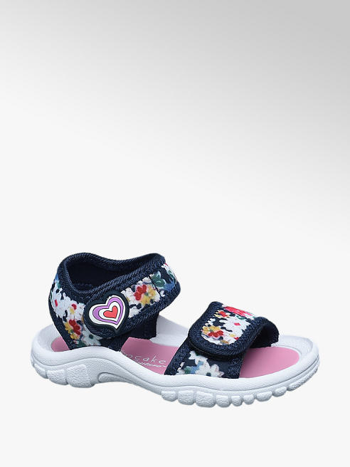 Cupcake Couture Toddler Girl Floral Sporty Sandals