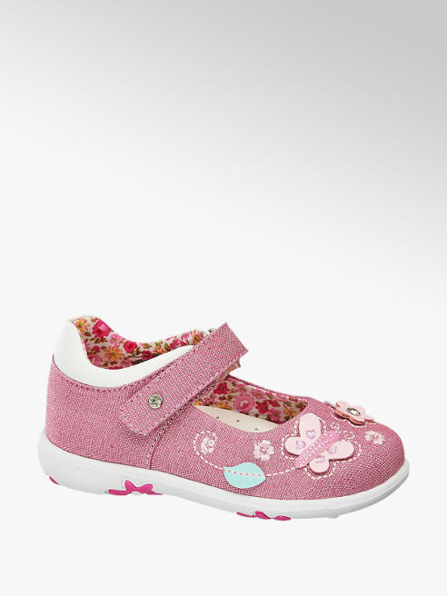 Cupcake Couture Toddler Girl Butterfly Detail Bar Shoes