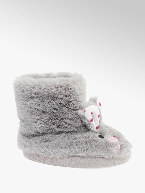 Cupcake Couture Toddler Girls Rabbit Boot Slipper